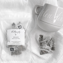 Load image into Gallery viewer, SOLACE (Organic Herbal Pyramid Teabags)