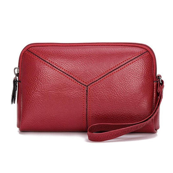 Leather Clutch Mini Hand Purse