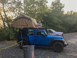 Tuff Stuff® Delta Overland Jeep Wrangler, Truck & Car Roof Top Tent, 2  Person Soft Shell