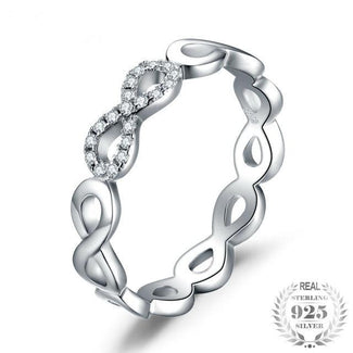 Infinity Forever Love Anniversary Promise Ring