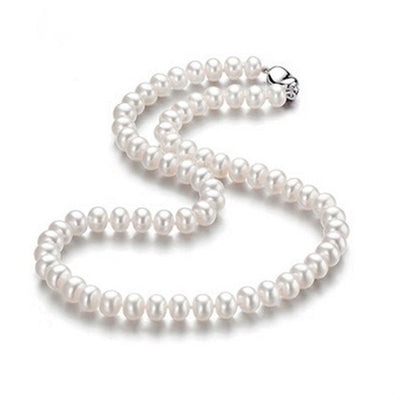 AAAA high quality natural freshwater pearl necklace