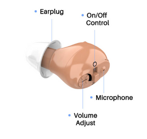 HOT SALE-Rechargeable Invisible Hearing Aid