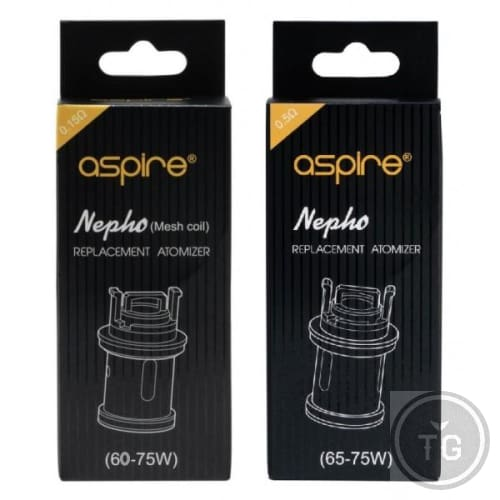 ASPIRE NEPHO REPLACEMENT COIL 3-PACK - MESH 0.15