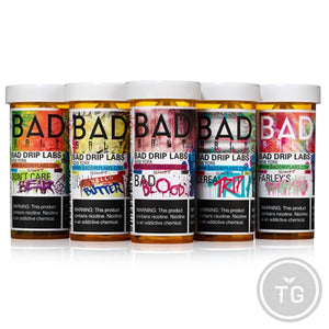 BAD DRIP SALTS COLLECTION (30ML) SALT NIC