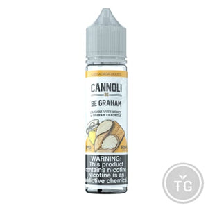 CANNOLI BE GRAHAM (60ML) BY CASSADAGA E-LIQUIDS