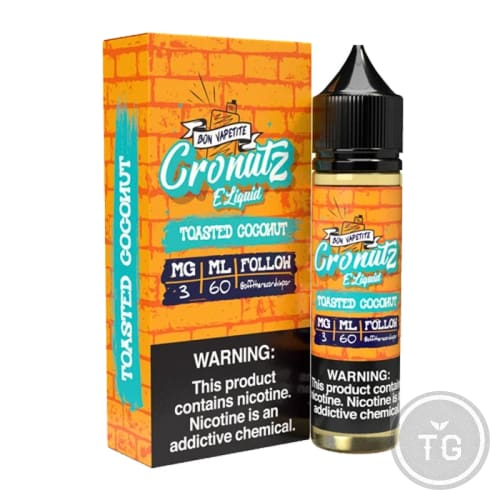 CRONUTZ COLLECTION (60ML) E-LIQUID BY OFF THE RECORDS (DADDY'S VAPOR)