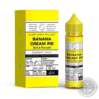 GLAS BASIX (60ML) 9-FLAVORS - 3MG BANANA CREAM PIE