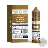 GLAS BASIX (60ML) 9-FLAVORS - 3MG SUGAR COOKIE