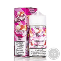 HI-DRIP COLLECTION (100ML) BY TEARDRIP JUICE CO. - 0MG NECTARINE LYCHEE