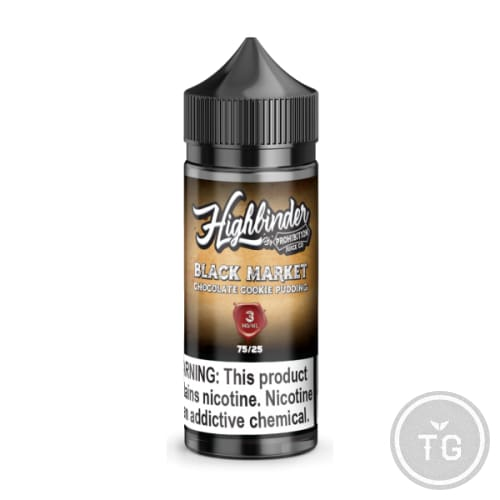 HIGHBENDER BLACK MARKET (100ML) BY PROHIBITION JUICE CO. - 0MG