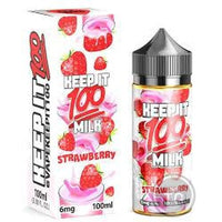 Keep It 100! Strawberry Milk (100Ml) - Juices