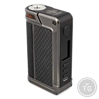 LOST VAPE PARANORMAL DNA250C 200W MOD - Black Rhombus Gun Metal Pearl Fish