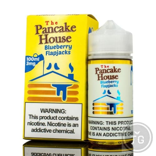 PANCAKE HOUSE BLUEBERRY FLAPJACKS (100ML)