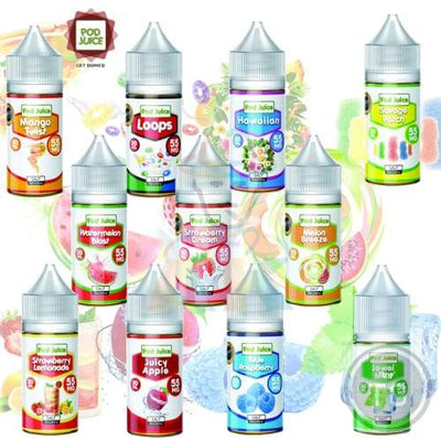 POD JUICE COLLECTION (30ML) SALT NIC