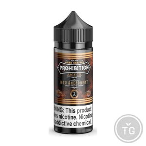 PROHIBITION JUICE CO. 18TH AMENDMENT (100ML)