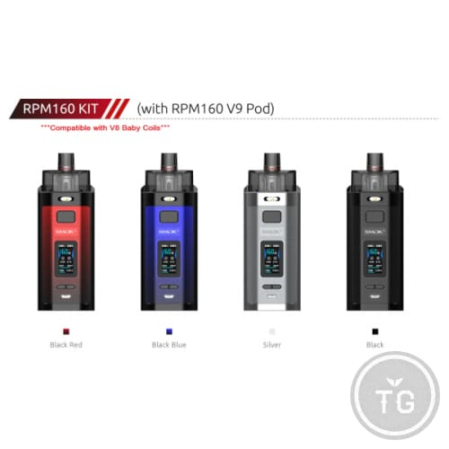 SMOK RPM160 KIT V9 POD EDITION *BABY BEAST COMPATIBLE*