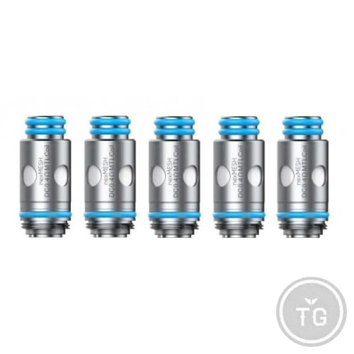 SMOK X OFRF nexMESH REPLACEMENT COILS (5-PACK) - SS316 MESH 0.4
