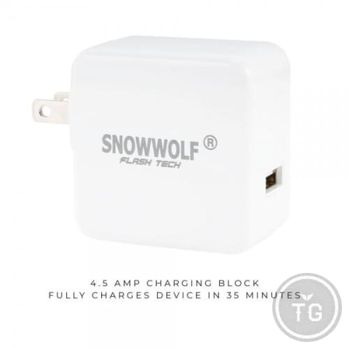 SNOWWOLF FLASH TECH WALL CHARGER