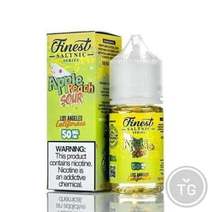 THE FINEST SALT - APPLE PEACH SOUR (30ML)