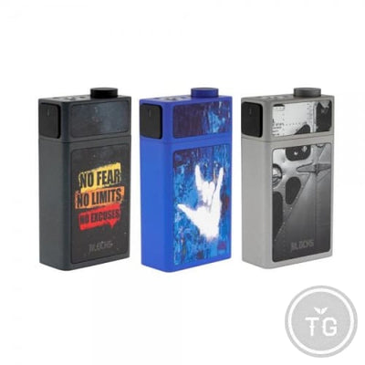 UWELL BLOCKS SQUONK MOD - BLACK
