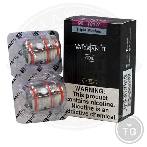 UWELL VALYRIAN 2 REPLACEMENT MESH COILS (2-PACK) | TG VALUE VAPE