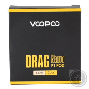 VOOPOO DRAG NANO P1 REPLACEMENT PODS 2-PACK
