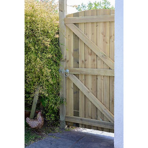 Grange Arched Featheredge Gate 1.8m x 900mm