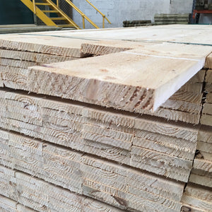"Untreated Rough Sawn 150mm x  22mm (6"" x 7/8"") 3.6m (Ungraded)"