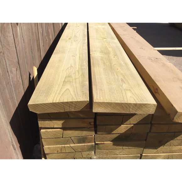 Treated Smooth C24 Sawn Carcassing 47mm X 225mm Ex 9x2