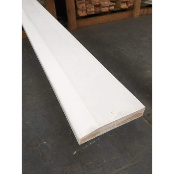 MDF Chamfered Skirting 18mm x 120mm x 4.4m