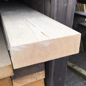 Untreated C24 Sawn Carcassing 75mm x 225mm (EX 9X3)