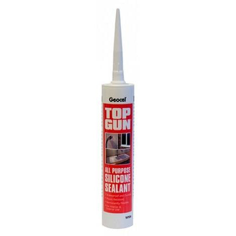 TOP GUN All Purpose Silicone Sealant Tube