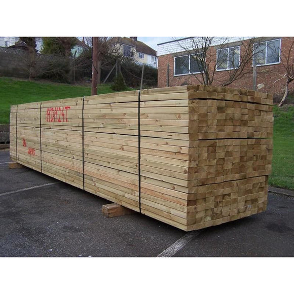 Untreated C24 Sawn Carcassing 47mm x 75mm (EX 3X2) 3.6m