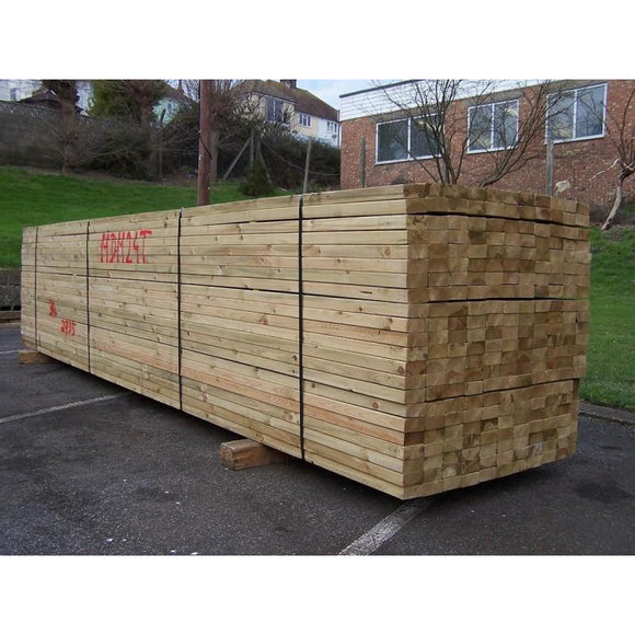 Untreated C24 Sawn Carcassing 47mm x 100mm (EX 4X2)