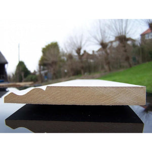 MDF Ogee Skirting 18mm x 120mm x 4.4m
