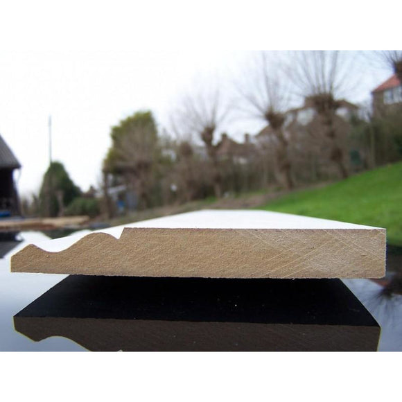 MDF Ogee Skirting 18mm x 220mm x 4.4m