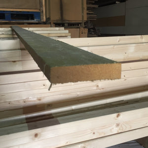 "Untreated Rough Sawn 100mm x  22mm (4"" x 7/8"") 3.6m (Ungraded)"