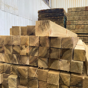 Treated Fence Post 75mm x 75mm (3x3) x 1.8m