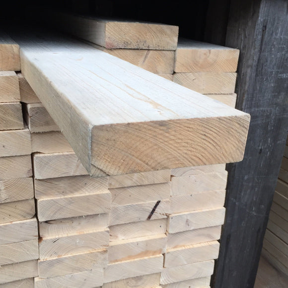 Untreated C24 Sawn Carcassing 47mm x 150mm (EX 6X2)