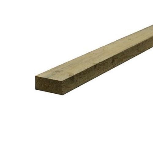 Treated Sawn Carcassing 47mm x 100mm, 3.6 metre length