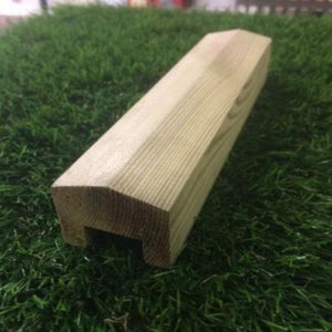 Redwood Rebated Fence Capping 3.6m