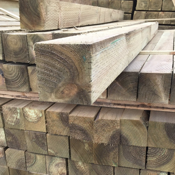 Treated Fence Post 100mm x 100mm (4x4) x 3.6m