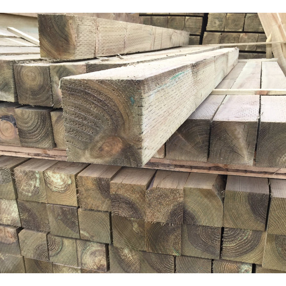 Treated Fence Post 75mm x 100mm (4x3) x 2.4m