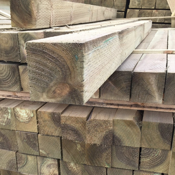 Treated Fence Post 100mm x 100mm (4x4) x 2.4m