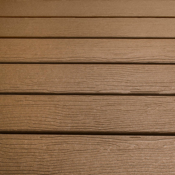Composite Deck Board 'Lifecycle S1' Colour: 'Bridle' - 4m x 137mm x 21mm