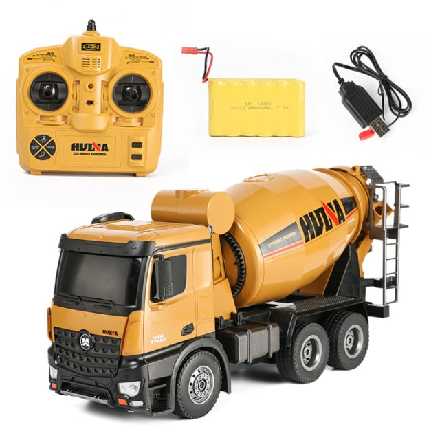 Construction HUINA RC Truck 574 1:14 Concrete Mixer