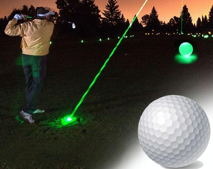 Golf 10Pcs/Lot Night Golf Balls Luminous Light Up Golf Balls Bright Night