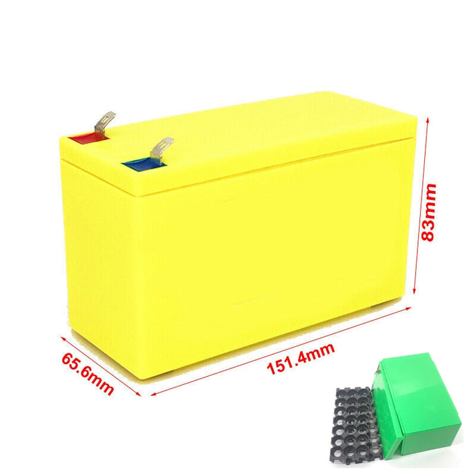 Battery 12V 3S7P Lithium Rechargeable Battery Box with Battery Box
