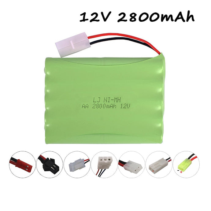 Battery 12v NiMH Battery For RC Toys Cars Tanks Trucks Robots