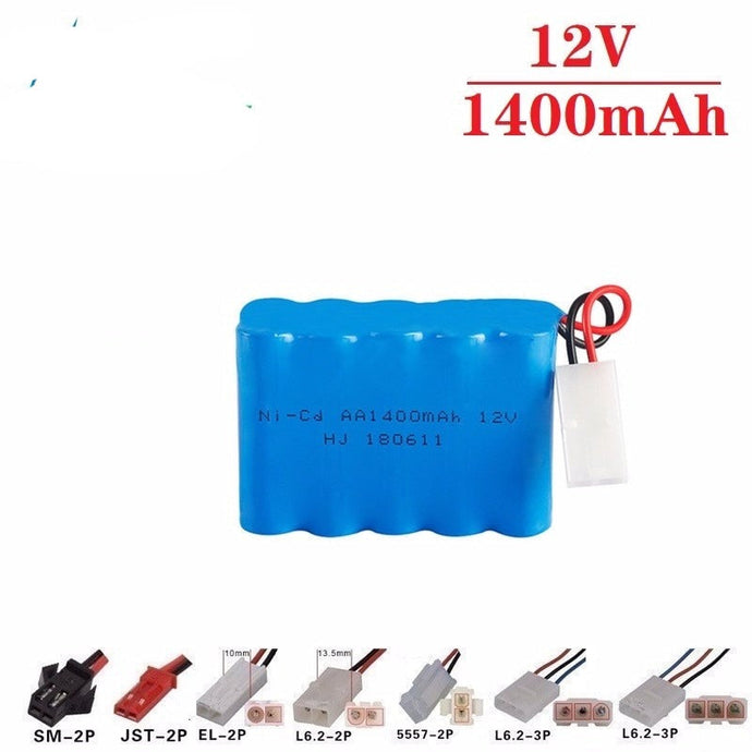 Battery Upgrade 12v 1400mah NiCD Battery For Rc Toys Cars Tanks